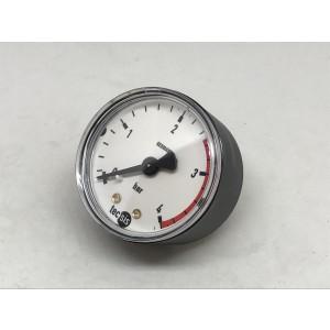 "Pressure gauge 4 bar 1/4"""