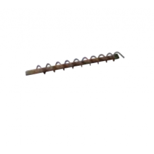 Turbulator 21/45 Ø 44 * 450 S = 45