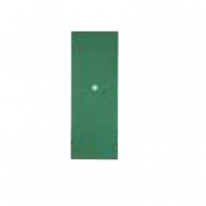 Sheet metal, side left / right green