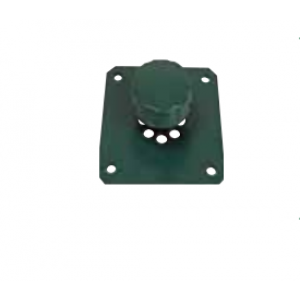 Plug Rosette Vent Green M sequences