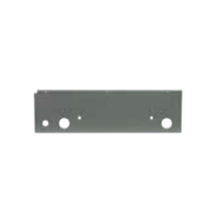 Rear insulation plate gray
