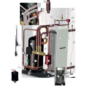 Compressor kit AEH33Y