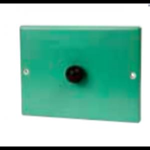 Soot door plate