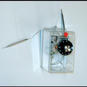 Complete cap, thermostat knob