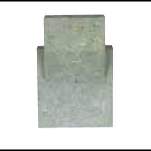 Rear Ceramic grate