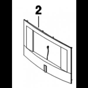 002A. Decor Frame + light guide Bosch LD