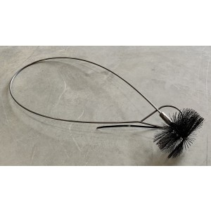 Sweeping brush Ø115 * 40 L = 1270 Flexible
