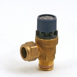 Safety valve 9 bar, tappvat