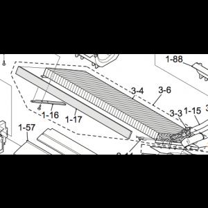 Evaporator to Nordic Inner part 12 HR-N