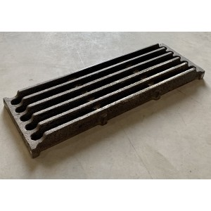 Cast iron grate complete