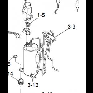 Reversing valve for Nordic Inverter DR-N