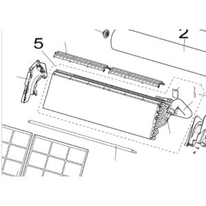 005A. Condenser for Nordic Inverter LRN / PRN