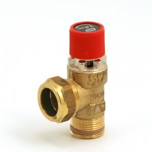 Safety valve 2.5 bar Syr