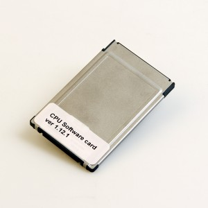 CPU card software ver 1.12.1