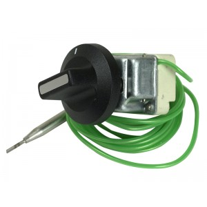 Operating thermostat 1-pole