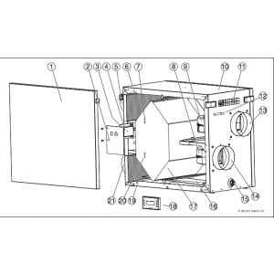 Filter set F5 HRV IVT 400