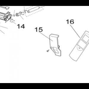 015A. Cable / draft shield Nordic Inverter PRN / LRN