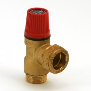 Safety valve 1,5bar ext