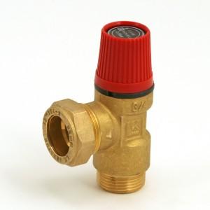 Safety valve 2.5 bar