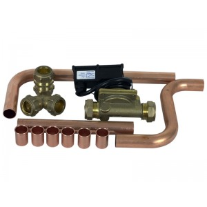 Flow switch Kpl Incl HW CW Pipes