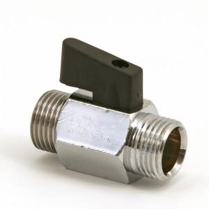 "017C. Ball valve 1/2"" R15 male / male"