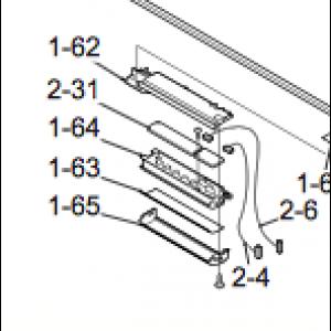Display Nordic Inverter 12 HRN Inner part