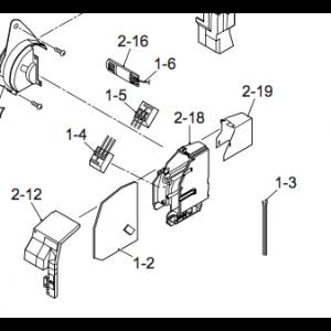 PCB to Nordic Inverter 12 DR N Inner part