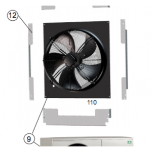 Fan Ø 560mm 5-leaf 1011-
