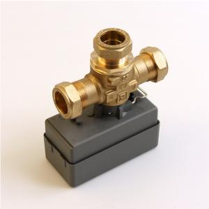 Port valve 3 way IVT Greenline GSHP (LK Armatur)