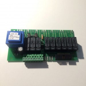 029. Relay card with power supply unit