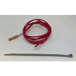 Hot gas sensor