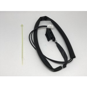 Sensor / overheat protection for heating cable