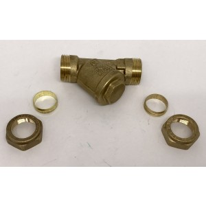 093. Strainer to Nibe PELLUX, City and Täppman boilers