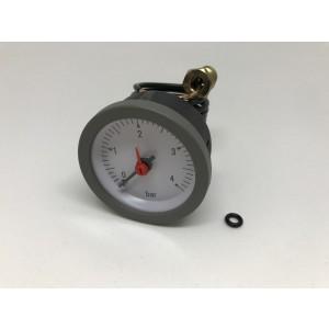 042. Boiler pressure gauge, 0-4bar Grey