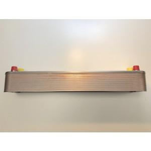 Exchanger (condenser) including insulation