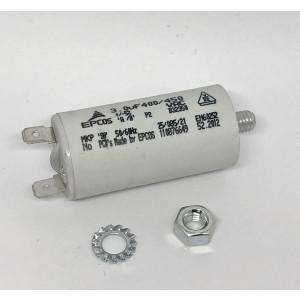 057. Operating condenser, fan
