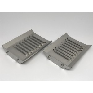 2-pcs grate for Viking Bio 20 (original Värmebaronen)