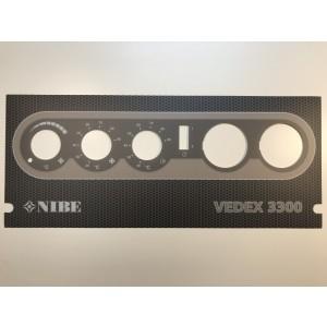 110. Panel plate Vedex 3300