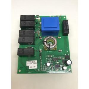 PCB soft-start capacitors on underside 0605-0744