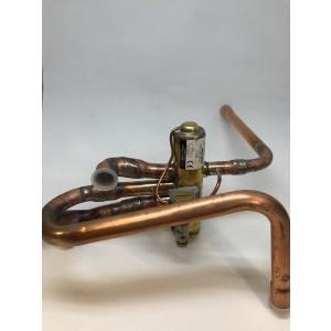 Kpl four-way valve with tubes 0925-1115