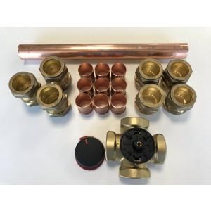 Mixing valve, bivalent 28KW