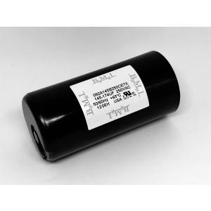 Starting capacitor compressor