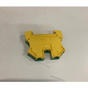 009. Terminal Blocks Yellow / green 10 mm2