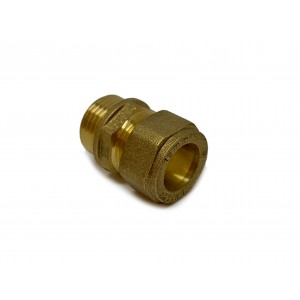 Straight Compr, Fitting 15x G1/2 3pcs