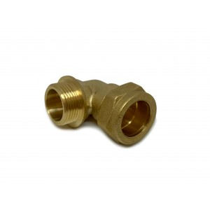 Ø22xG3⁄4 Angle fitting 2pcs