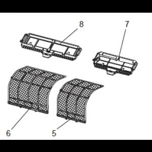 AIR FILTER (RIGHT) Mitsubishi MSZ-FD25VA