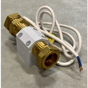 Flow switch, 22 mm compression