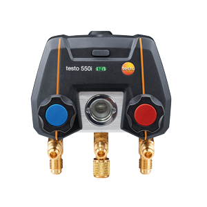 TESTO 550i  app-styrt digitalt manometerställ