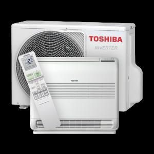 Toshiba gulvmodell 035 - 5,7 kW