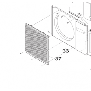 044B. Viftegrill Nordic Inverter utendørsanlegg